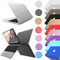 "Keyboard Cover Skin+Laptop Hard Matte Rubber Case Cover for Macbook Case Pro 13"" 2016 Release with Touch Bar A1708"
