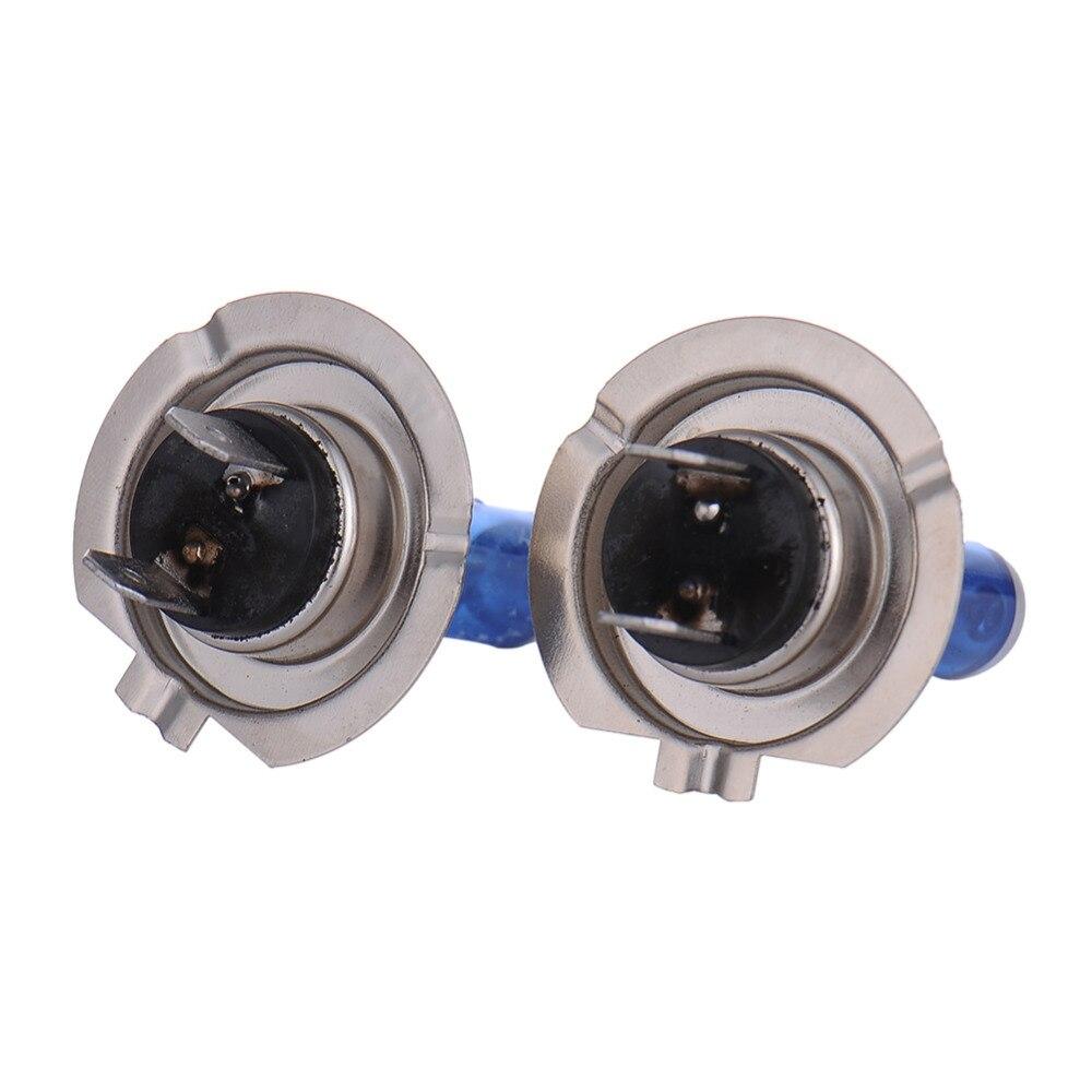 Image 2 - LED Bulb 2PCS DC12V 100w/90W DC12V Super White Quartz Glass Blue Headlight Lamp Bulbs Head Light Bulb Fog lights Styling-in LED Bulbs & Tubes from Lights & Lighting