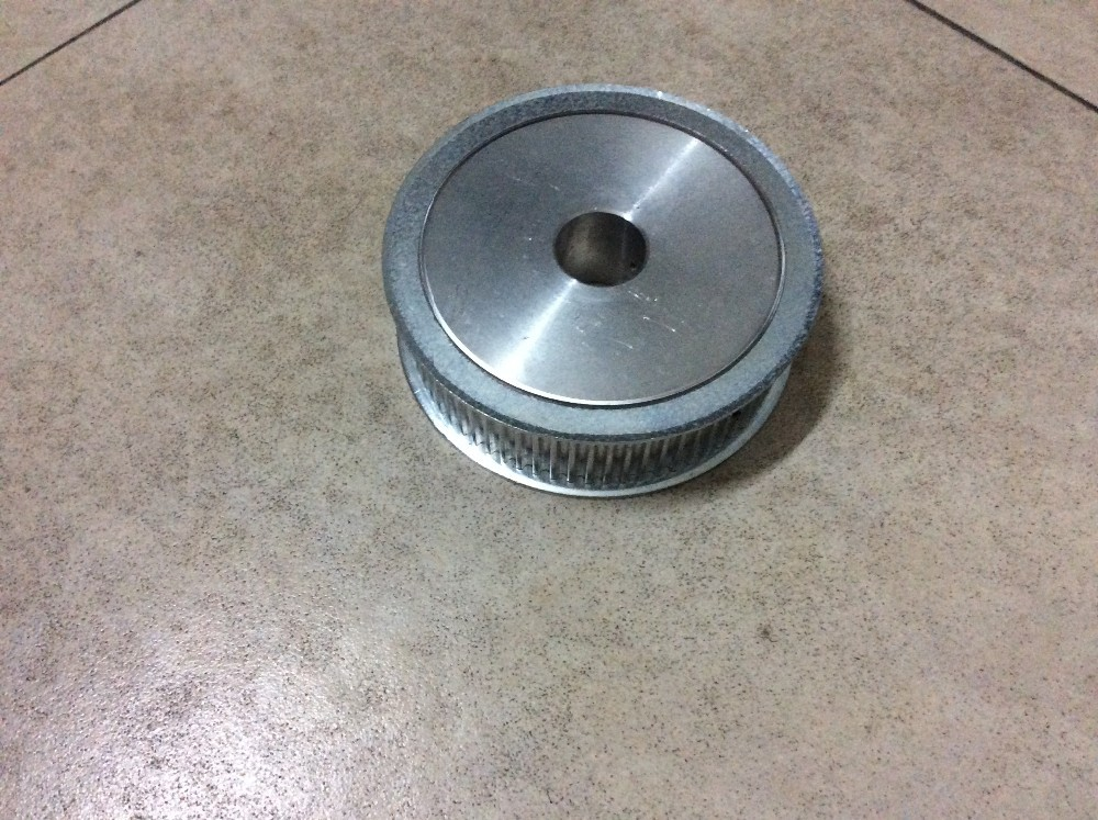 Durable 7075 aluminum alloy CNC machine pulley, tooth gears
