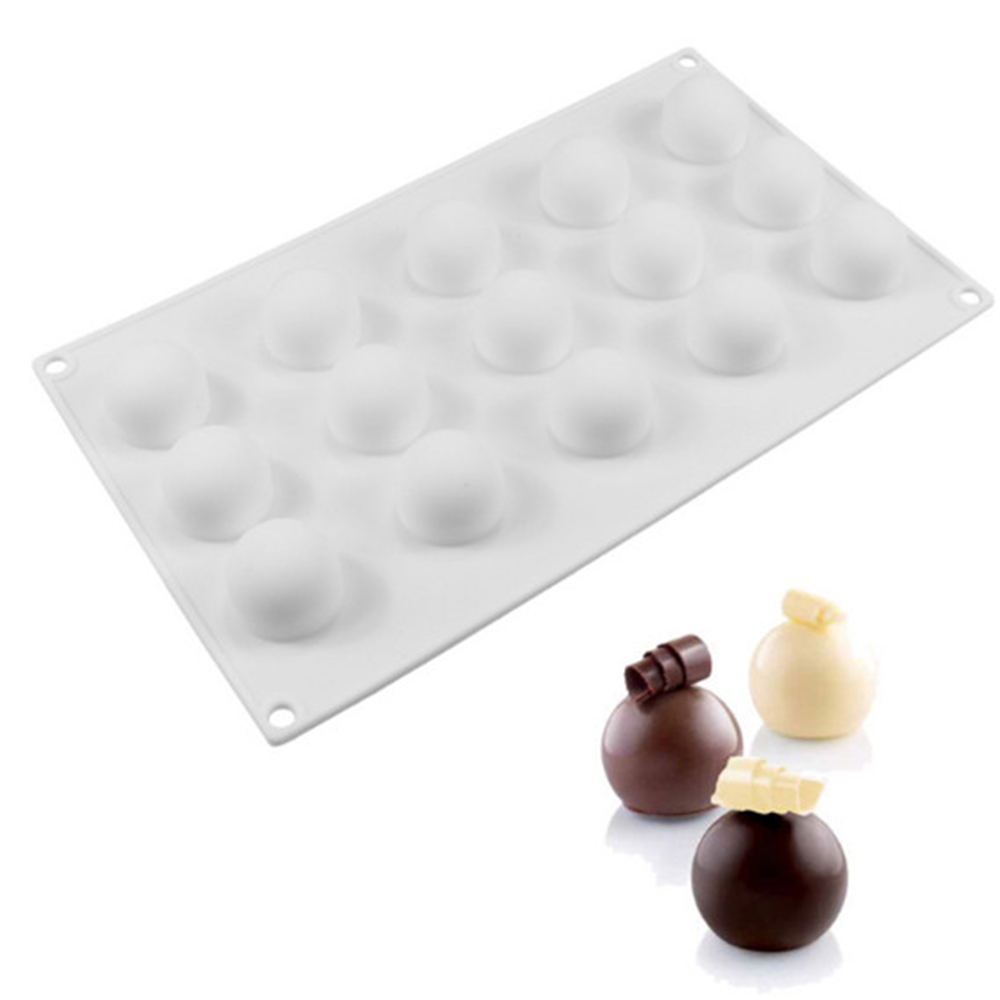 AMW Half Round Ball Shaped Silicone Cake Mold DIY Kitchen
