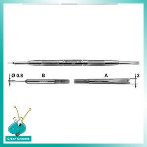 Image 2 - Bg 6767 f 파인 스프링 바 피팅 도구 제거 더블 사이드 핀 및 프롱 시계 공구