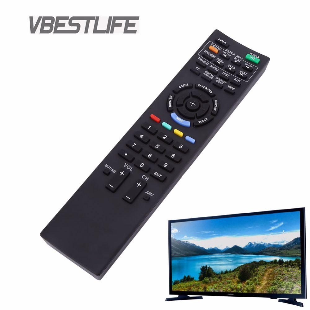 VBESTLIFE TV Remote ControlReplacement for Sony RM-YD038, RM-YD033, RM-ED040 Wireless Controller Universal Free Shipping