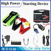 Новое аварийное пусковое устройство 12 В 600A пусковое устройство портативное автомобильное зарядное устройство для автомобиля аккумулятор бустер автомобильный стартер power Bank