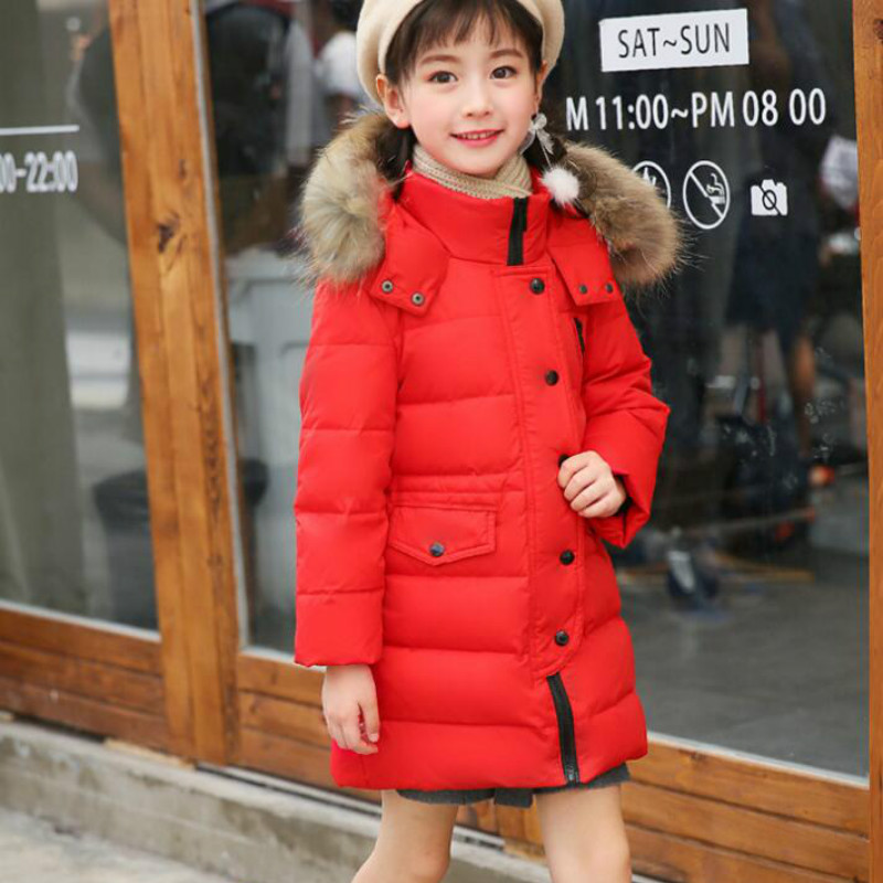 Children S Winter Down Jackets for Boys Outer Wear Thicken Clothing Baby Girl Coat Kids Parka Clothes Doudoune Manteau Enfant
