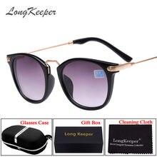 6de91578f1 Longkeeper terminado gafas Sol Gafas 2 en 1 miopía moda Marcos lente 100-400  grados Gafas de sol-1- 1.5-2-2.5-3-3.5-4
