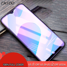 IMIDO Full Cover for VIVO Y79 Y75 Y71 Y75S Y71 Y67 Anti Blue Tempered Glass for VIVO Y66 Y83 Y85 Y93 Y97 Screen Protector Film купить недорого в Москве