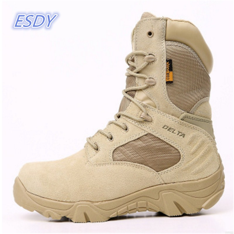 Winter outdoor sports Hiking shoes men's special forces combat boots tactical boots desert boots Delta high to help wear militar brand fishing waders security staff special forces shoes ski bodyguard women trekking tactical desert climb combat land boots