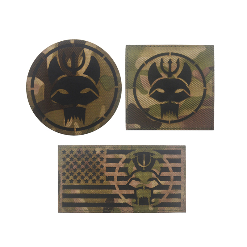 Navy Seal Team Three Tactical Morale Hook Patch