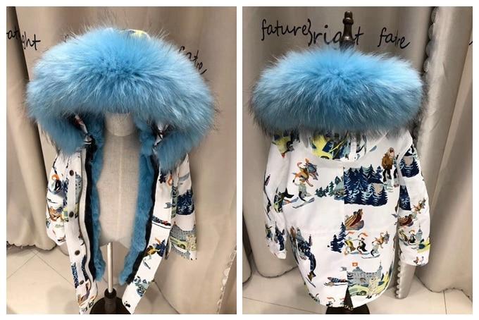 child winter real fur parkas coat (34)