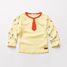 Enfants Garçons T-shirt À Manches Longues Chemises Pour Petit Garçon 2017 nouvelle Arrivée Bébé Garçon T-shirt Marque Enfants Vêtements Enfants Vêtements X3252