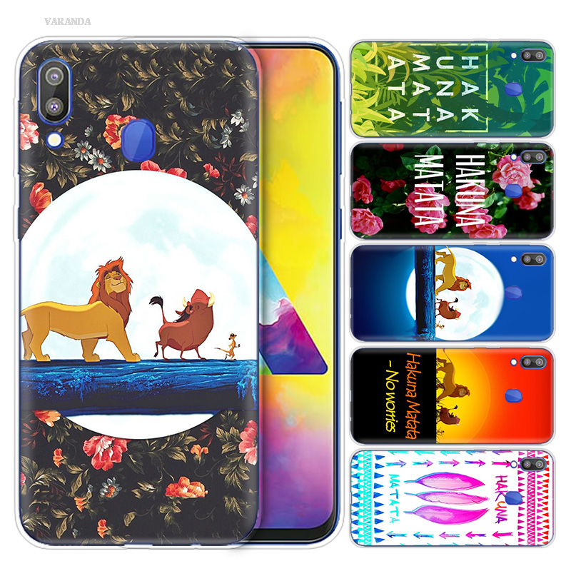 <font><b>Hakuna</b></font> <font><b>Matata</b></font> <font><b>Lion</b></font> <font><b>King</b></font> Print Cover Case for Samsung Galaxy S10 S10e S10 5G Plus M10 M20 M30 A10 A20 A30 A40 A50 A70 Coque Capa image