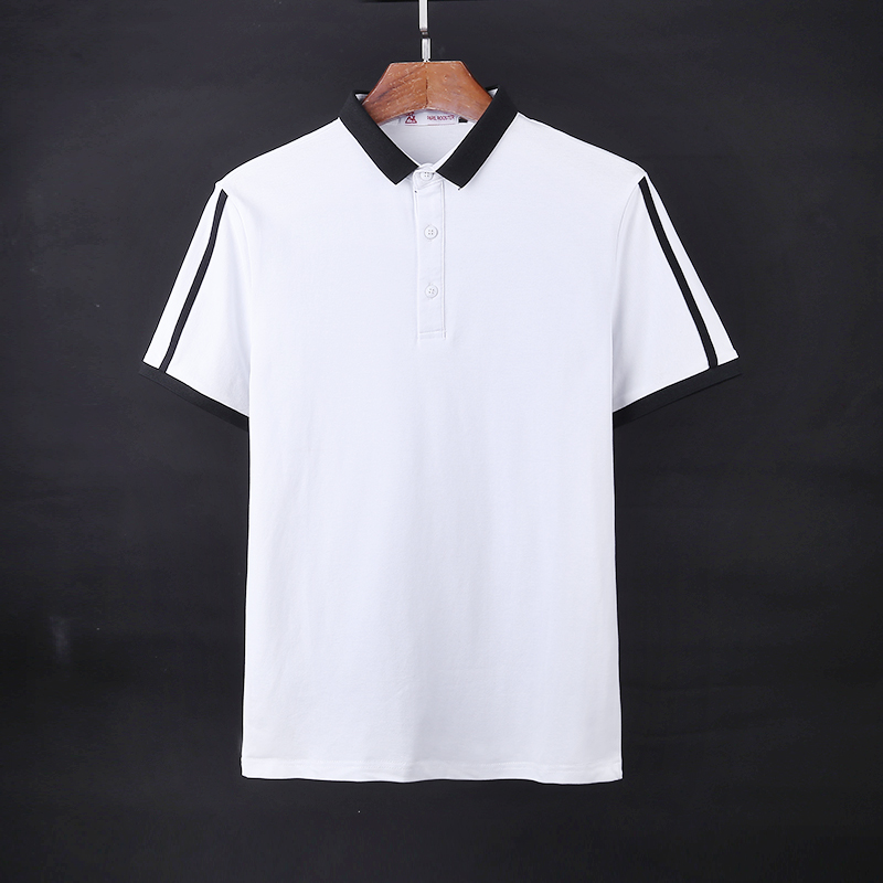 XMY3DWX 2018 summer men New style Spell color short sleeves Polo shirt /Man leisure breathable Slim fit Sports lapel Polo shirt