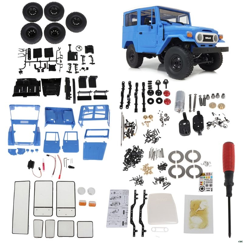 WPL C34 KIT/ WPL C34 KIT Version 1:16 FJ40 4WD Climbing Off-road Truck Remote Control Car DIY Accessories