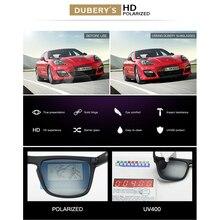 DUBERY Polarized Sunglasses  Men Women  Driving  Sport Sun Glasses For Men High Quality Cheap  Luxury Brand Designer Oculos