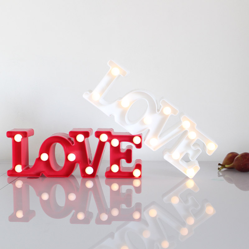 Big Love Shape 3D LED Lamp Girl Children Room Decorative Light Wall Lamp Party Night Light Wedding Decoration Gift ZQ-CY1010 mipow btl300 creative led light bluetooth aromatherapy flameless candle voice control lamp holiday party decoration gift