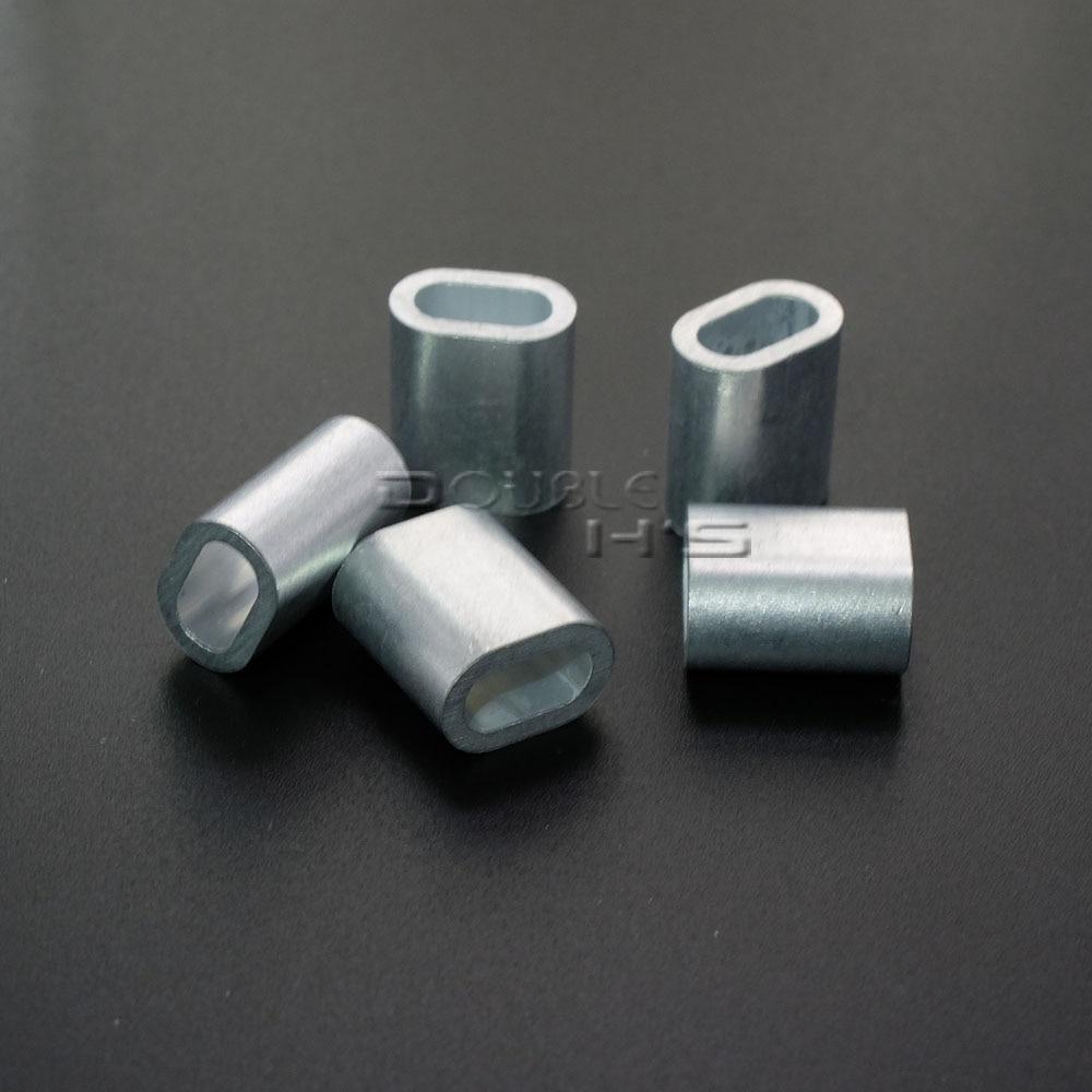 Aliexpress.com : Buy 50pcs/lot Aluminum Cable Crimp Sleeve Cable ...