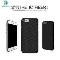Original Nillkin Synthetic Fiber Case Cover For Iphone 7 7 Plus Hard Carbon Fiber Back Skin