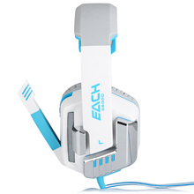 EACH G8000 Gaming Headset Stereo Sound 2.2M Wired Headphone Noise Reduction With Microphone For Computers IPhone IPod Smarphone