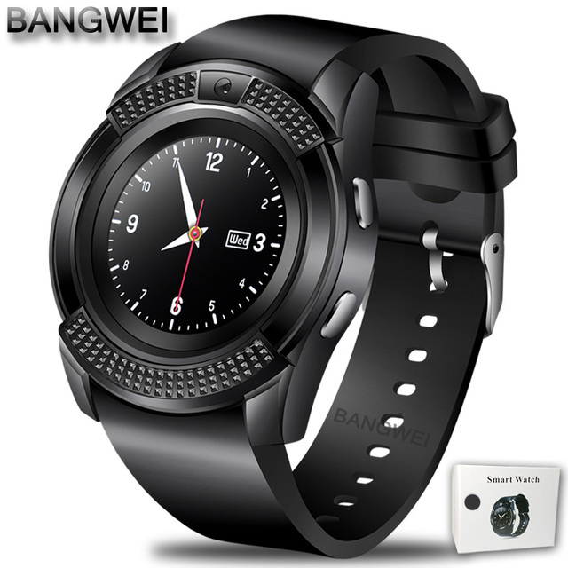 black Smartwatch android 5c649caf6f148