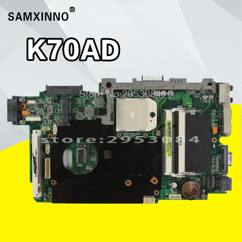 K70AD Motherboard REV:2.3 512M For ASUS K51A K70AC K51AB K70AB K70AD K70AF laptop Motherboard K70AD Mainboard K70AB Motherboard все цены
