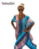 Халат De Plage 2016 Новинка пикантные Летний стиль Для женщин Пляжная кимоно платье дамы шикарный Графический Майами Бич кафтан пончо lc41542