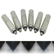 50 PCS High Pressure 0.1mm-0.5mm Brass Watering  Spray Fog Misting Nozzle Garden For Cooling System