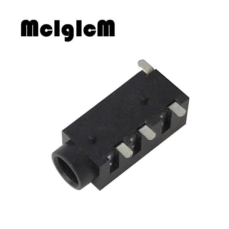 PJ320D 3.5MM Headphone Jack Socket Female Connector for Audio Video 3+1  4Pin SMD Audio Jack|connector 3.5mm|connector femaleconnector 3 - AliExpressAliExpress