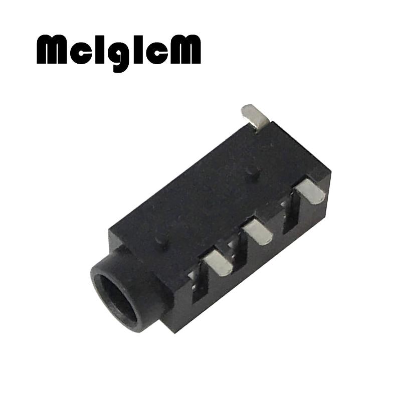 PJ320D 3.5MM Headphone Jack Socket Female Connector For Audio Video 3+1 4Pin SMD Audio Jack