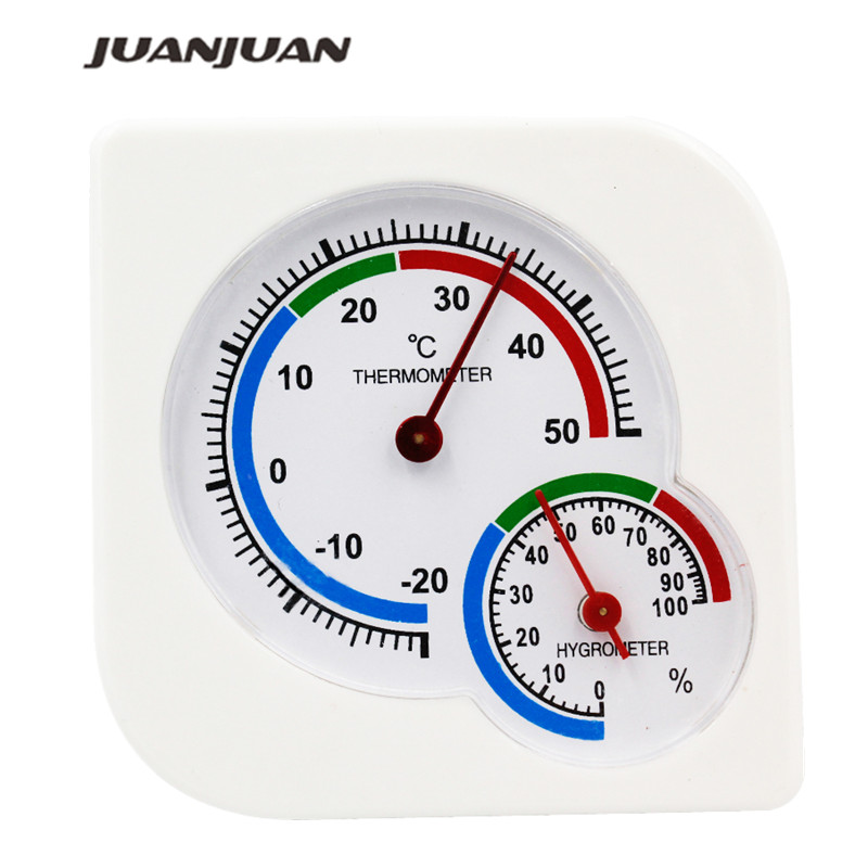 Em/monitor de tempo ao ar livre termômetro higrômetro mete ponteiro temperatura medição de umidade temp meter-20c-50c 35% de desconto