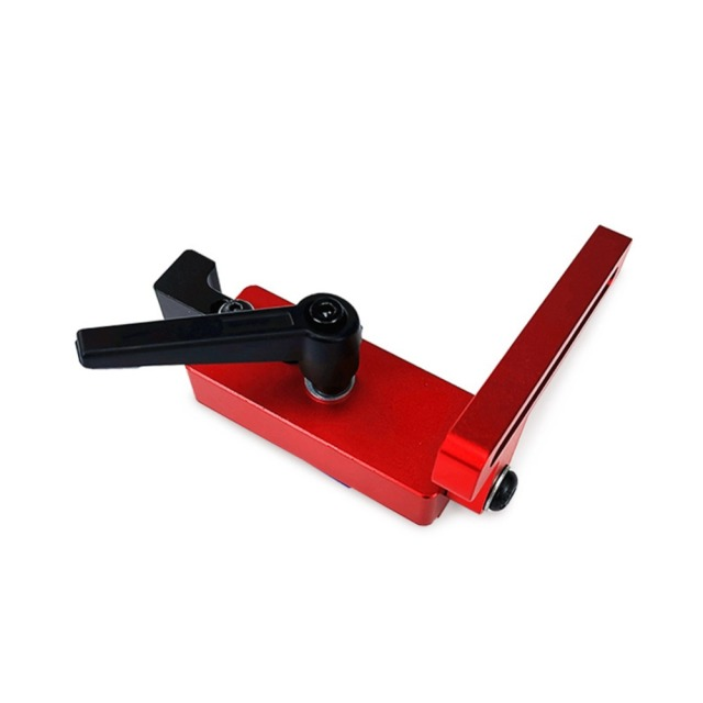 Model 45 Woodworking Chute Dedicated Limiter Standard Miter Track Standard T Slot Stopper Woodworking Positioning Fixed Clamping