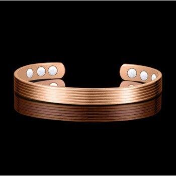 Женские браслеты из меди HOMOD, био-магнитные браслеты из меди для лечения ревматизма и боли