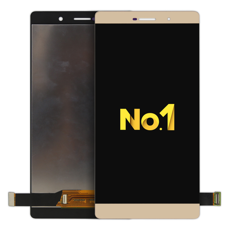 Alibaba china For Huawei P8 Max LCD Display With Touch Screen Digitizer Assembly AAA+ Replacement Parts White/Gold replacement original touch screen lcd display assembly framefor huawei ascend p7 freeshipping