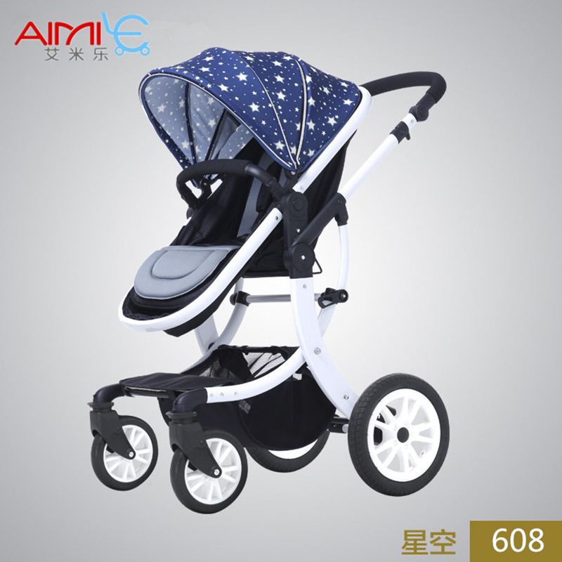 Emile Baby Stroller, Aimile Exit, High Landscape, Four Seasons Folding Shock Absorbers, Can Lie, Bb Cart, Summer