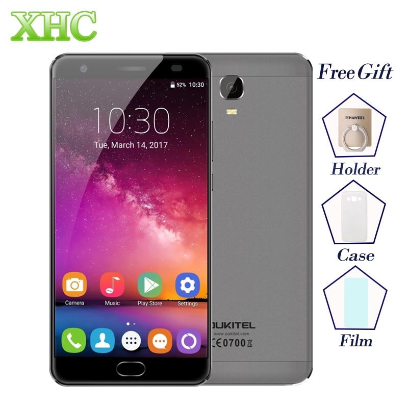 OUKITEL K6000 Plus 5,5 ''ROM 64 GB RAM 4 GB Smartphones Android 7.0 MTK6750T Octa Core Fingerabdruck Quick Charge 16MP Handys