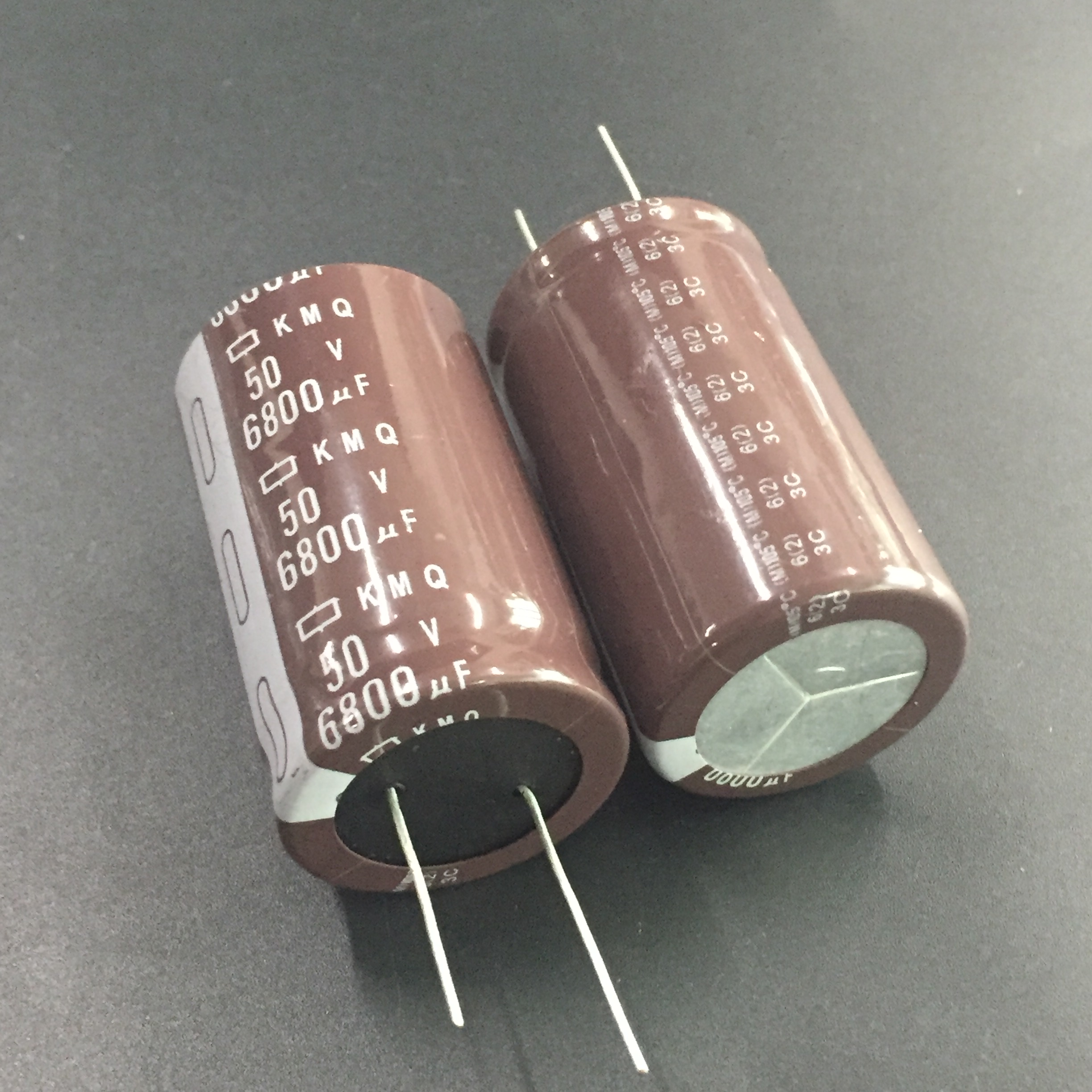2pcs/10pcs 6800uF 50V NIPPON NCC KMQ Series 30x50mm Original 50V6800uF PSU/AUDIO Capacitor image