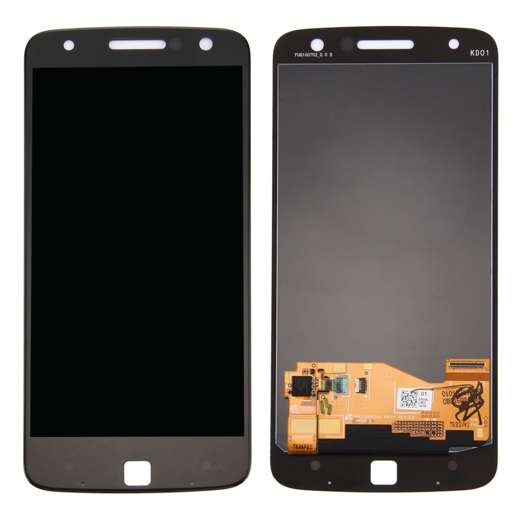 iPartsBuy LCD Screen and Digitizer Full Assembly for Motorola Moto Z iPartsBuy LCD Screen and Digitizer Full Assembly for Motorola Moto Z