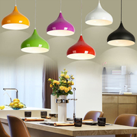 Modern Romantic Pendant Lamp Ceiling Lamp E27 24cm 85 265V Restaurant Light Fixture Bar Cafe Decoration