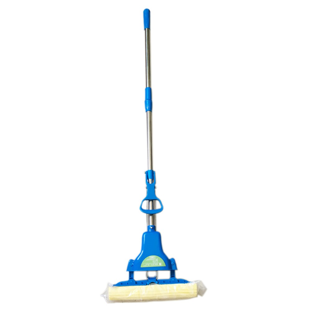Sponge Mops Floor Cleaning Mop Folding Absorbing Squeeze Water Magic Mop Household Cleaning Tools