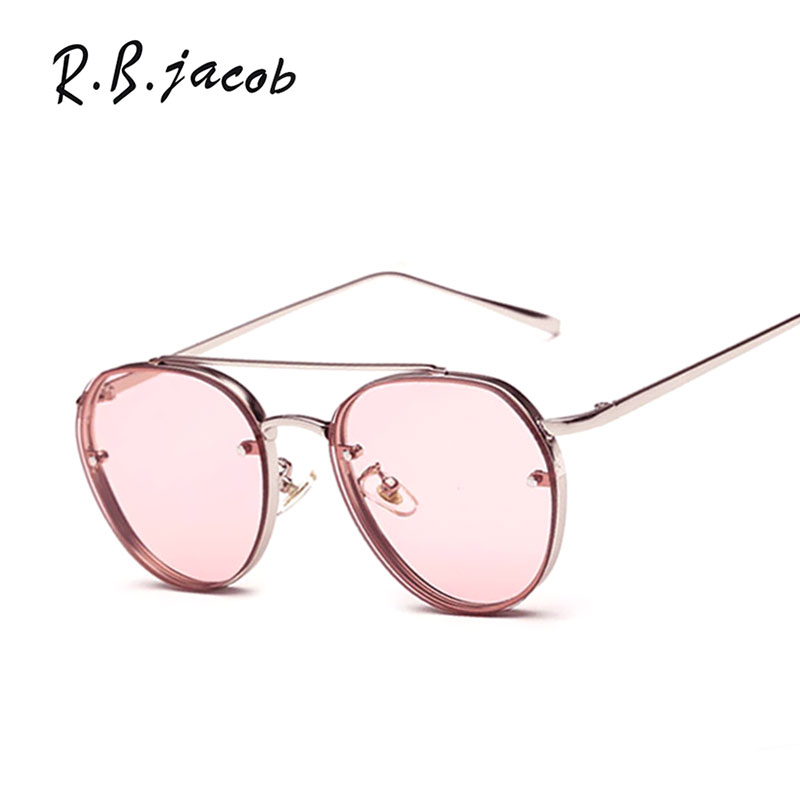 Vintage Retro Ladies Sun glasses Luxury Brand Designer Mirror Oculos De Sol feminino Gafas 2017 New Men Womens Round Sunglasses