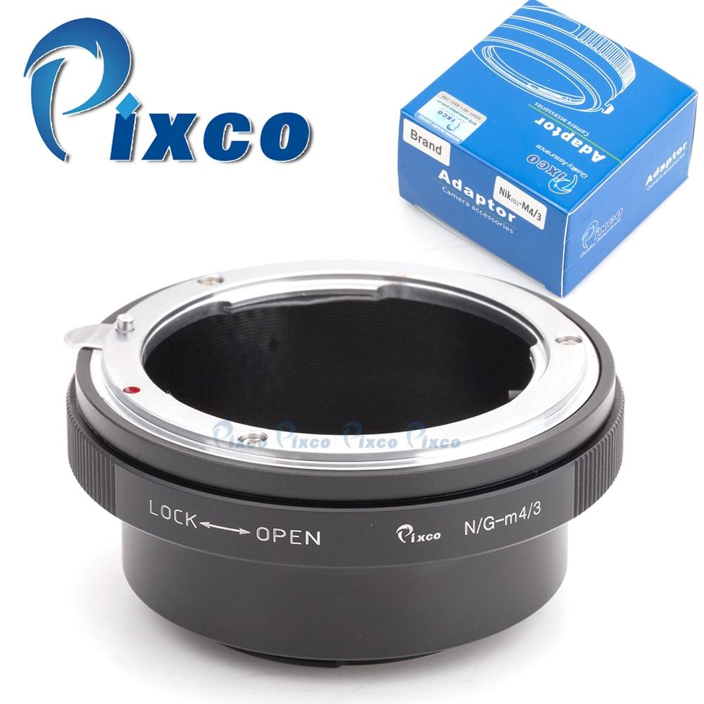 Enfoque Macro adaptador ajustable hasta el infinito Nikon AF G Lente Micro 4//3 m43