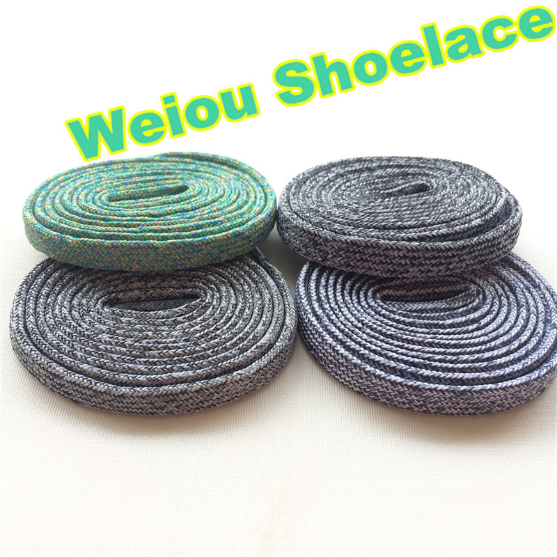 (30pairs/lot)Weiou colorful shoelaces flat bright colored shoe laces boot laces uk black and white basketball athletic shoelaces
