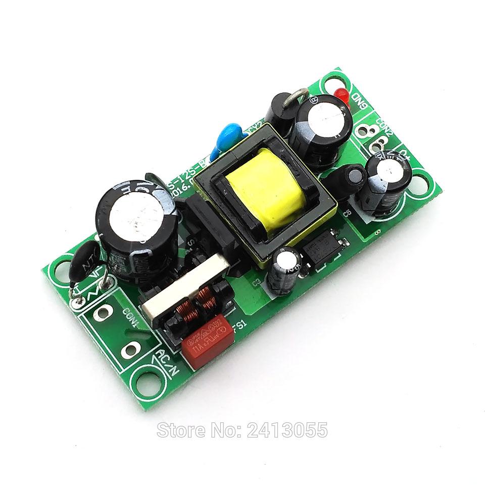 Switched Power Power Adapter 10W 2A AC DC Power Supplies 110/220V 85 ~ 265V to 5V Switched Regulated Power Supply