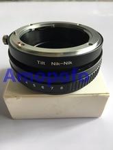 Amopofo For Nikon-Nik Tilt Lens Adapter for Nikon F AI Lens to Nik D90 D810 D5300 D7000