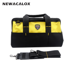 13inch (33x21x23cm) Utilityl Electrical Bag Tools Belt 600D Oxford  10 Outside Pockets Hardware Work Storage Handbags