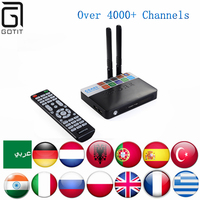 Germany IPTV CSA93 Android 6 0 4K TV Box With 2200 Power Albanian UK Arabic Dutch