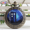 Small fresh oumeifeng flip Quartz Pocket Watch students bestie gift table sky house of friends DS070