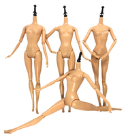 NK One Pcs Original Brand Doll S Body 12 Jointed Movable Nude Doll About 30cm 11