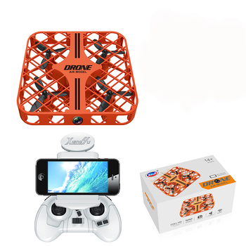 2018 New 2.4G 6-Axis Mini Drones with Camera HD Altitude Hold RC Helicopter Profissional FPV Quadrocopter Nano Drones Gift