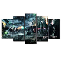 5pcs 5D Harry Potter Character Picture Diy Diamond Embroidery square diamond painting cross stitch Mosaic home decor gift ZP 045