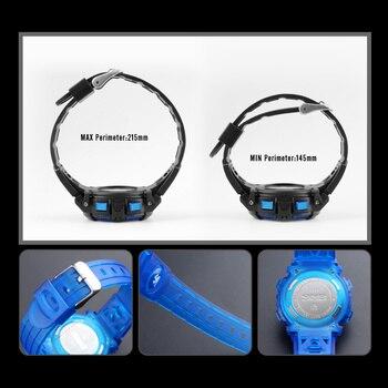 SKMEI Brand Sport Children Watch Waterproof LED Digital Kids Watches Luxury Electronic Watch for Kids Children Boys Girls Gifts 5